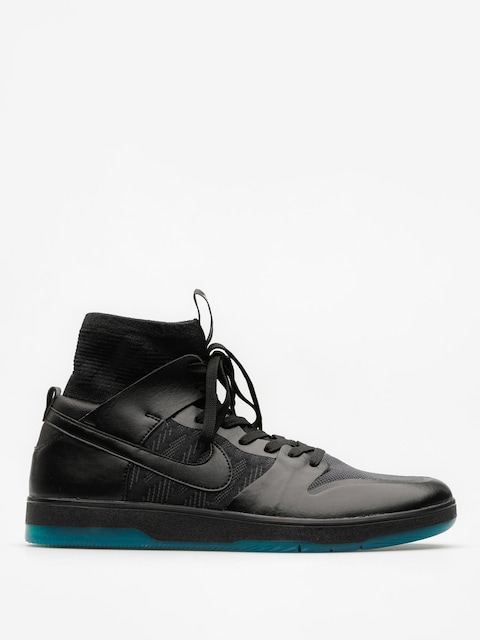 Topánky Nike SB Zoom Dunk High Elite (black/black dk atomic teal)