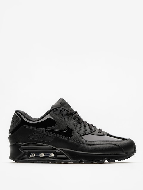 Nike Topánky Air Max 90 Leather Wmn (black/black black)