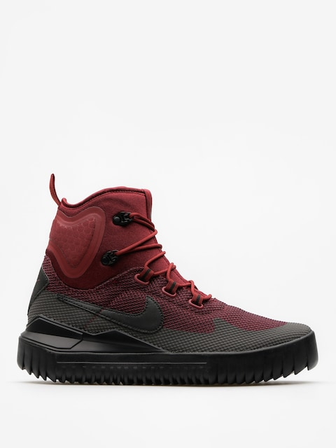 Nike Topánky Air Wild Mid (dark team red/black port wine)