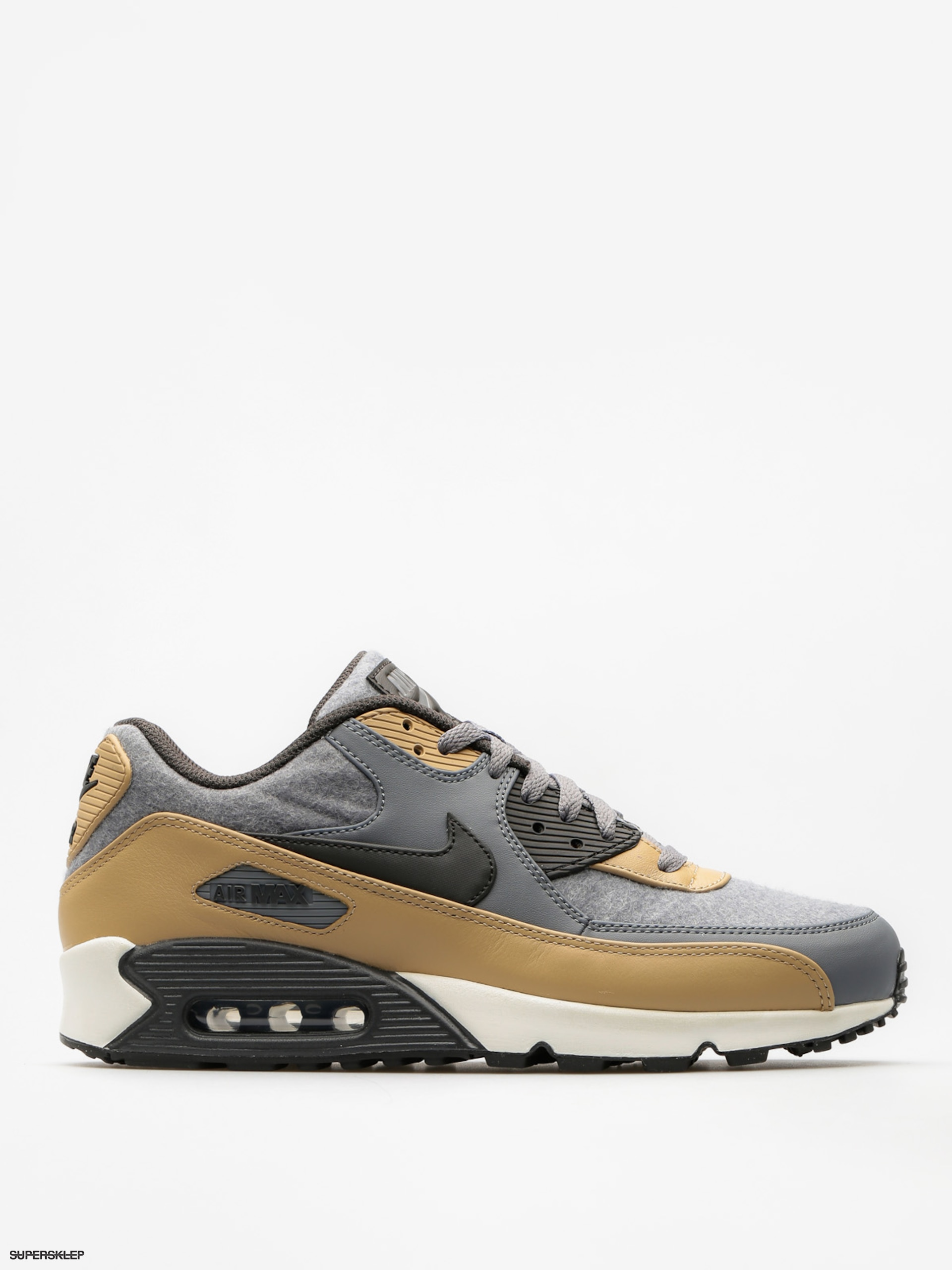 Topánky Nike Air Max 90 (Premium cool grey/deep pewter mushroom wolf grey)