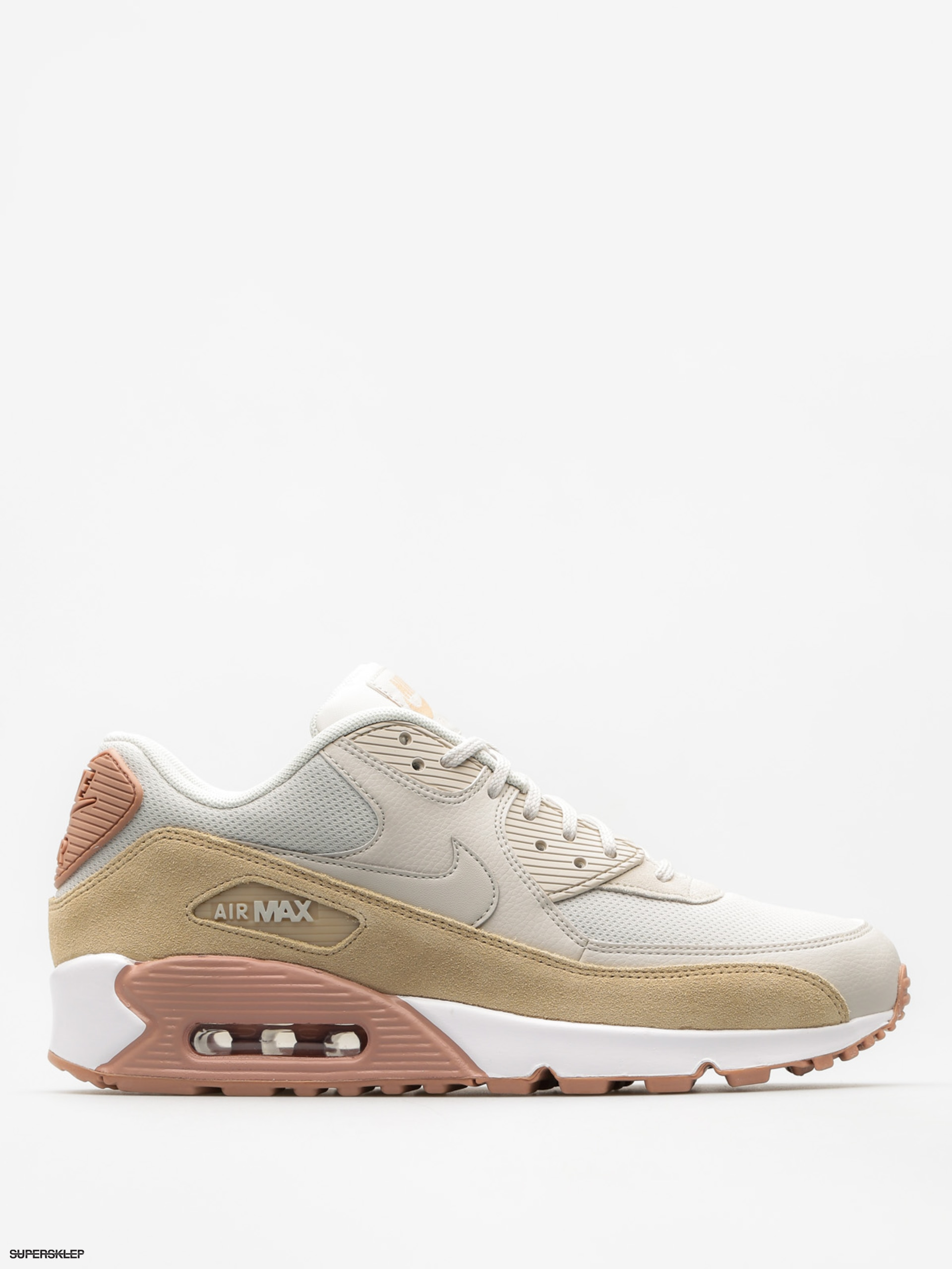 Nike Topánky Air Max 90 Wmn (light bone/mushroom particle pink white)