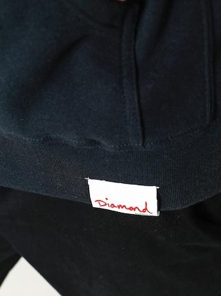 Mikina s kapucňou Diamond Supply Co. Circle Logo HD (navy)