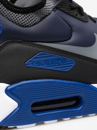 Topánky Nike Air Max 90 Ultra Mid Winter (obsidian/cool grey black gym blue)