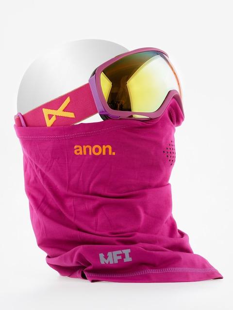 Okuliare na snowboard Anon Tempest Mfi Wmn (purple/gold chrome)