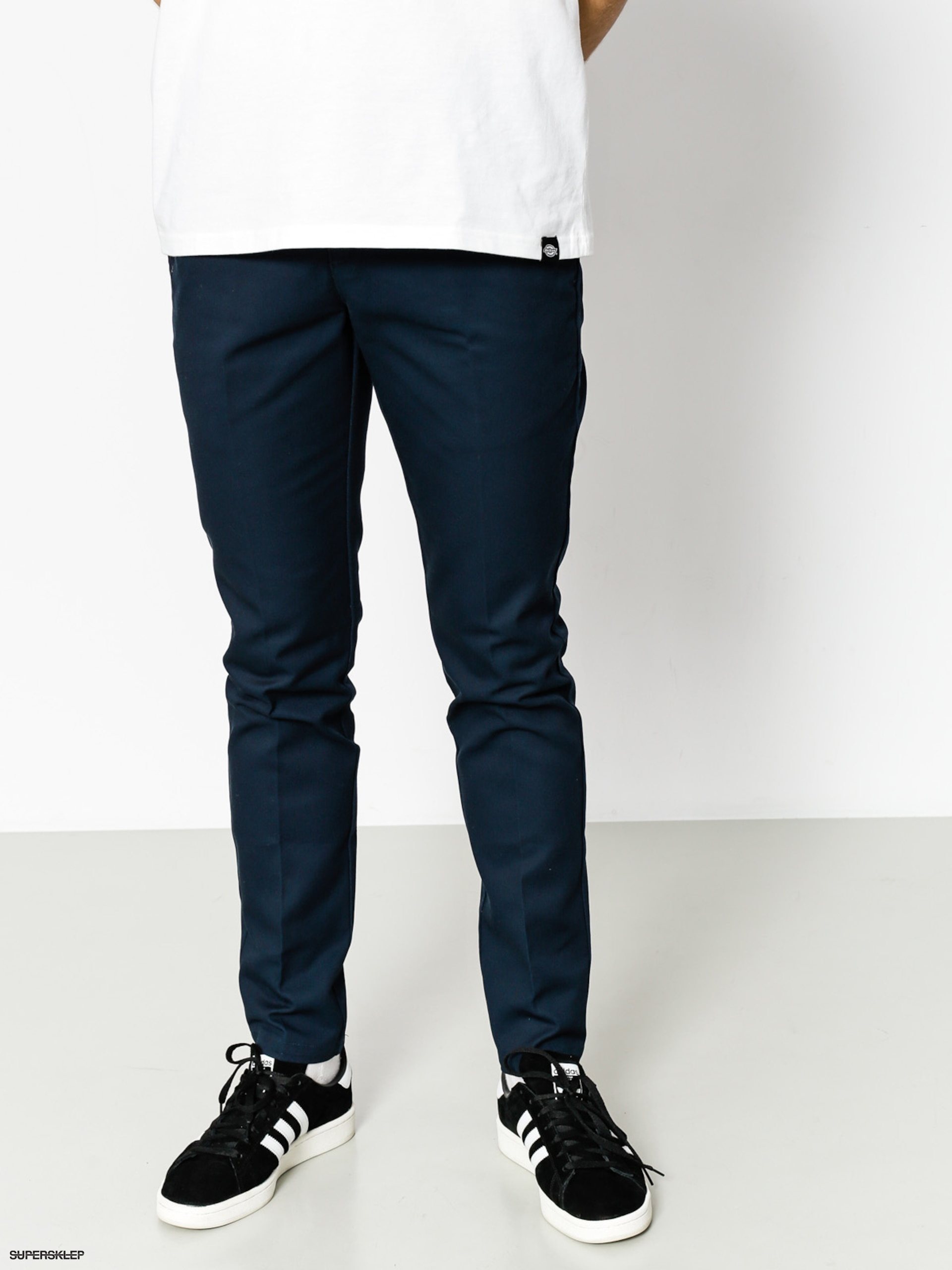 Nohavice Dickies WE872 Slim Fit Work Pant (dark navy)