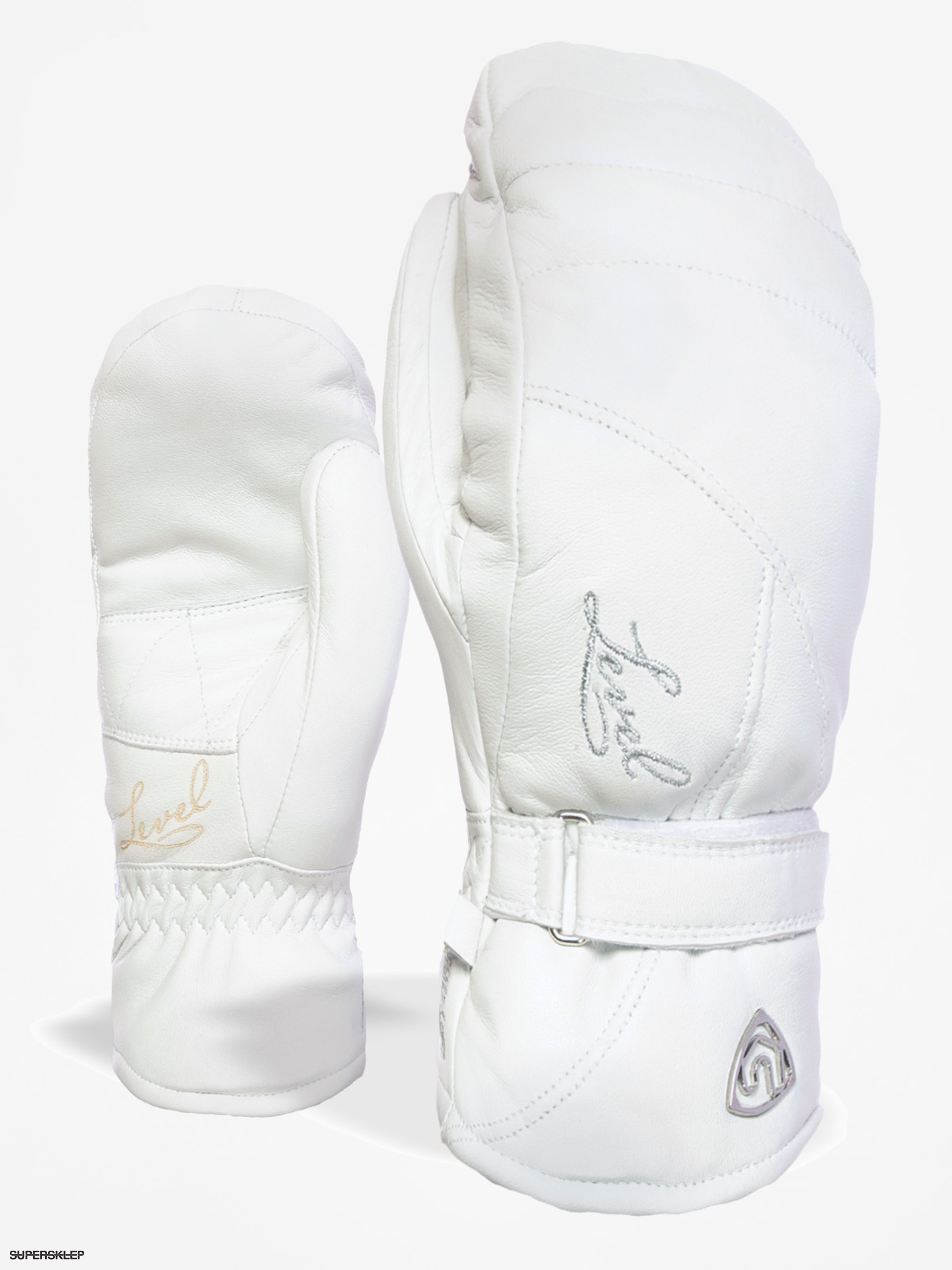 Level Rukavice Classic Mitt Wmn (white)