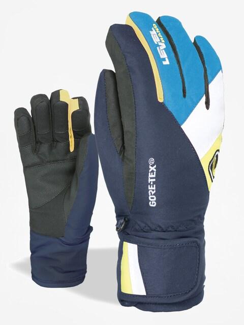 Rukavice Level Force Jr Gore Tex (light blue)