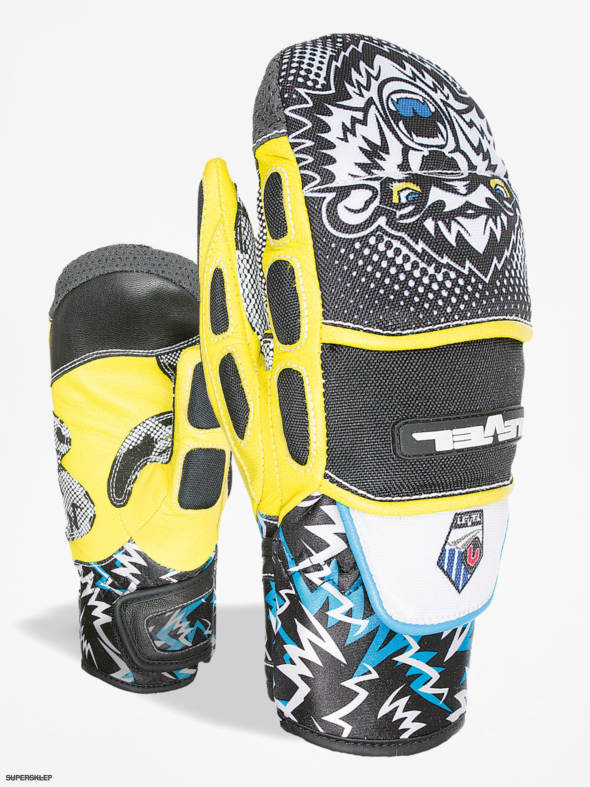 Level Rukavice Worldcup Jr Cf Mitt (black yellow)