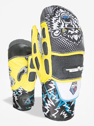 Level Rukavice Worldcup Jr Cf Mitt (black yellow)
