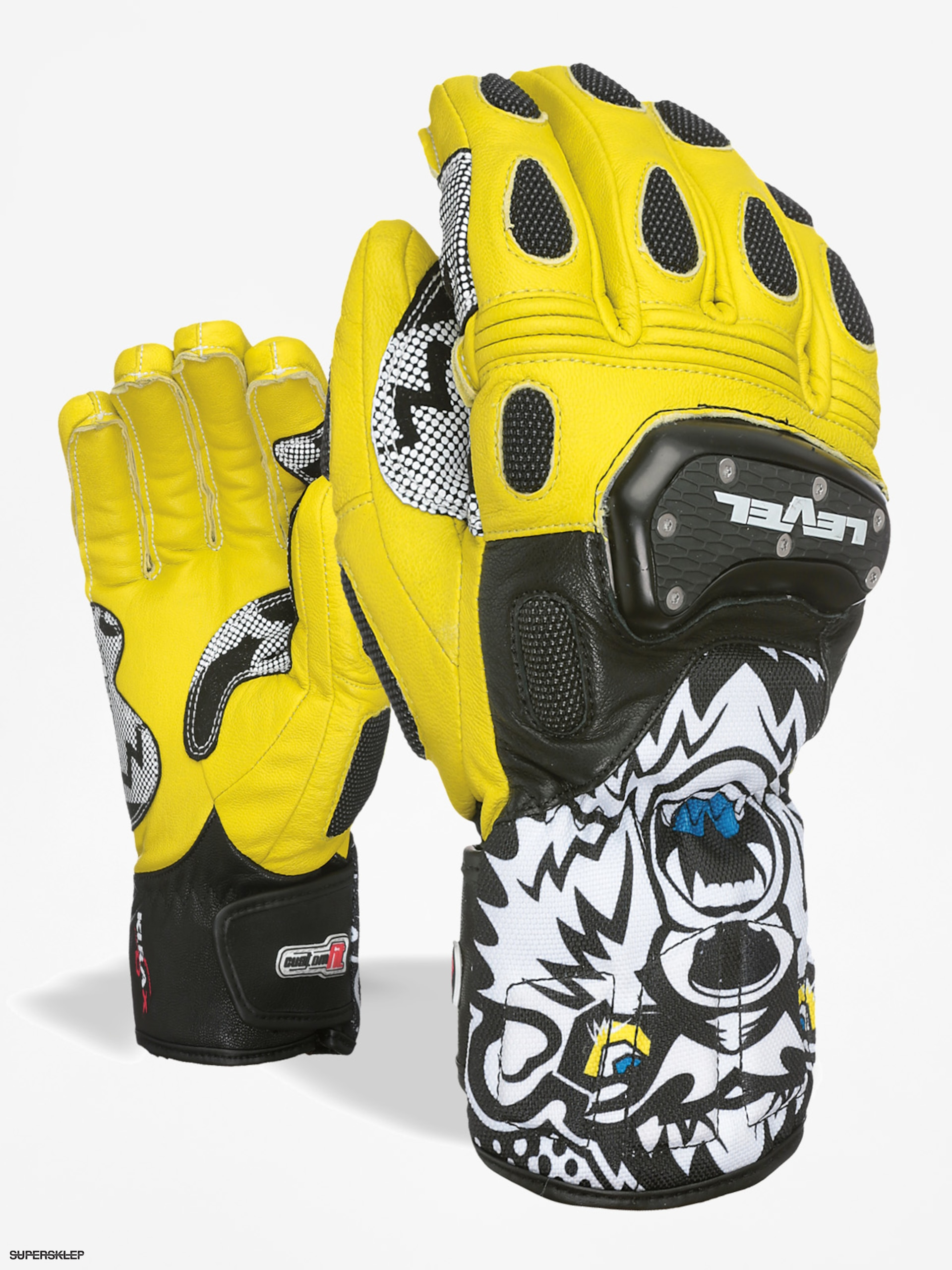 Rukavice Level Sq Cf (black yellow)
