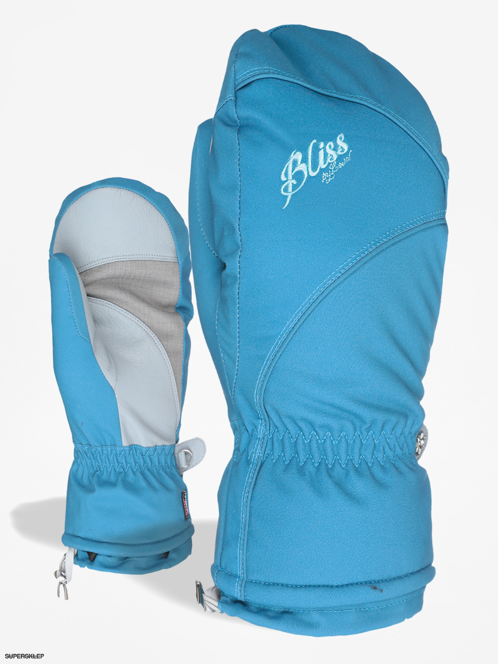 Level Rukavice Bliss Mummies Mitt Wmn (light blue)