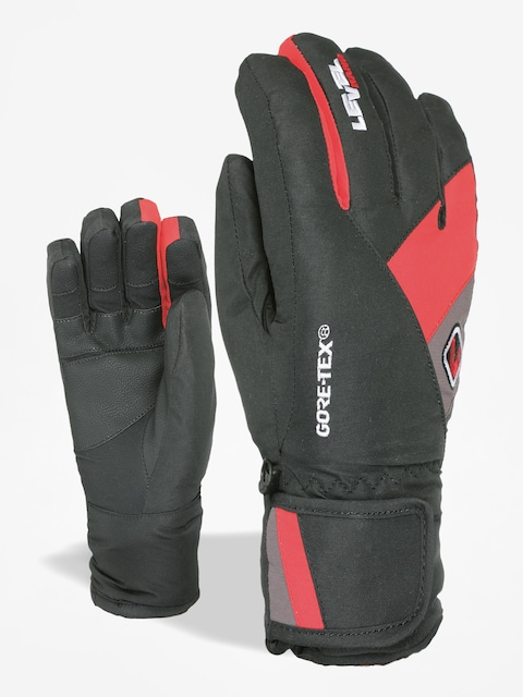 Rukavice Level Force Jr Gore Tex (red)