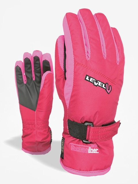 Rukavice Level Junior (fucsia)