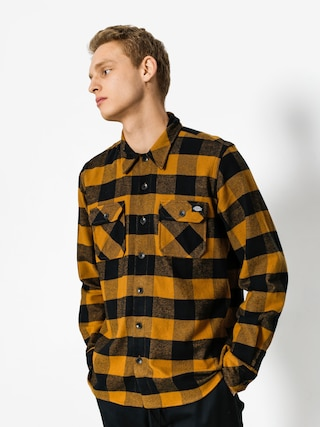 Kou0161eu013ea Dickies Sacramento LS (brown duck)