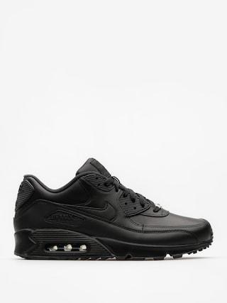 Topu00e1nky Nike Air Max 90 (Leather black/black)