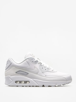 Topu00e1nky Nike Air Max 90 (Leather white/white)