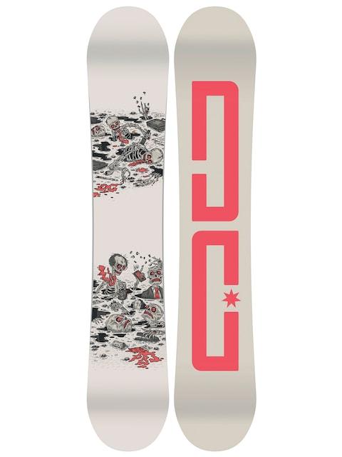 Snowboard DC Pbj (creme/red)