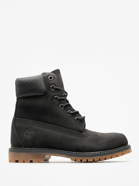 Topánky Timberland 6 In Premium Wmn (black nubuck)