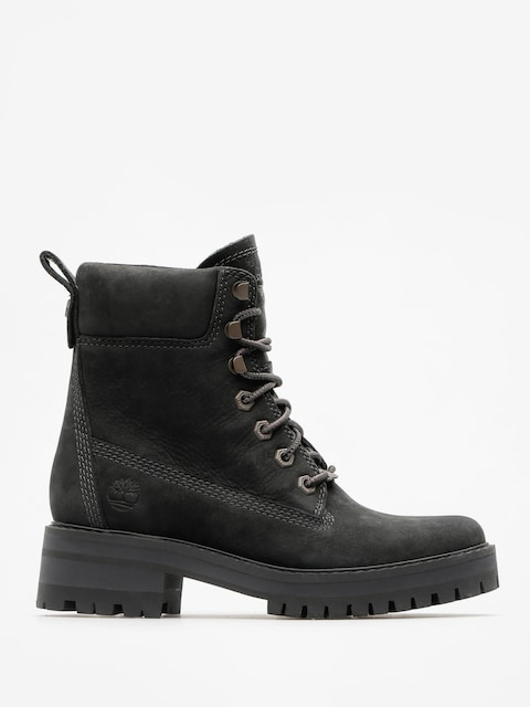 Topánky Timberland Courmayeur Valley Yboot Wmn (black nubuck)