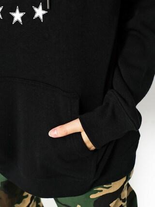 Mikina s kapucňou Volcom Gmj HD Wmn (blk)