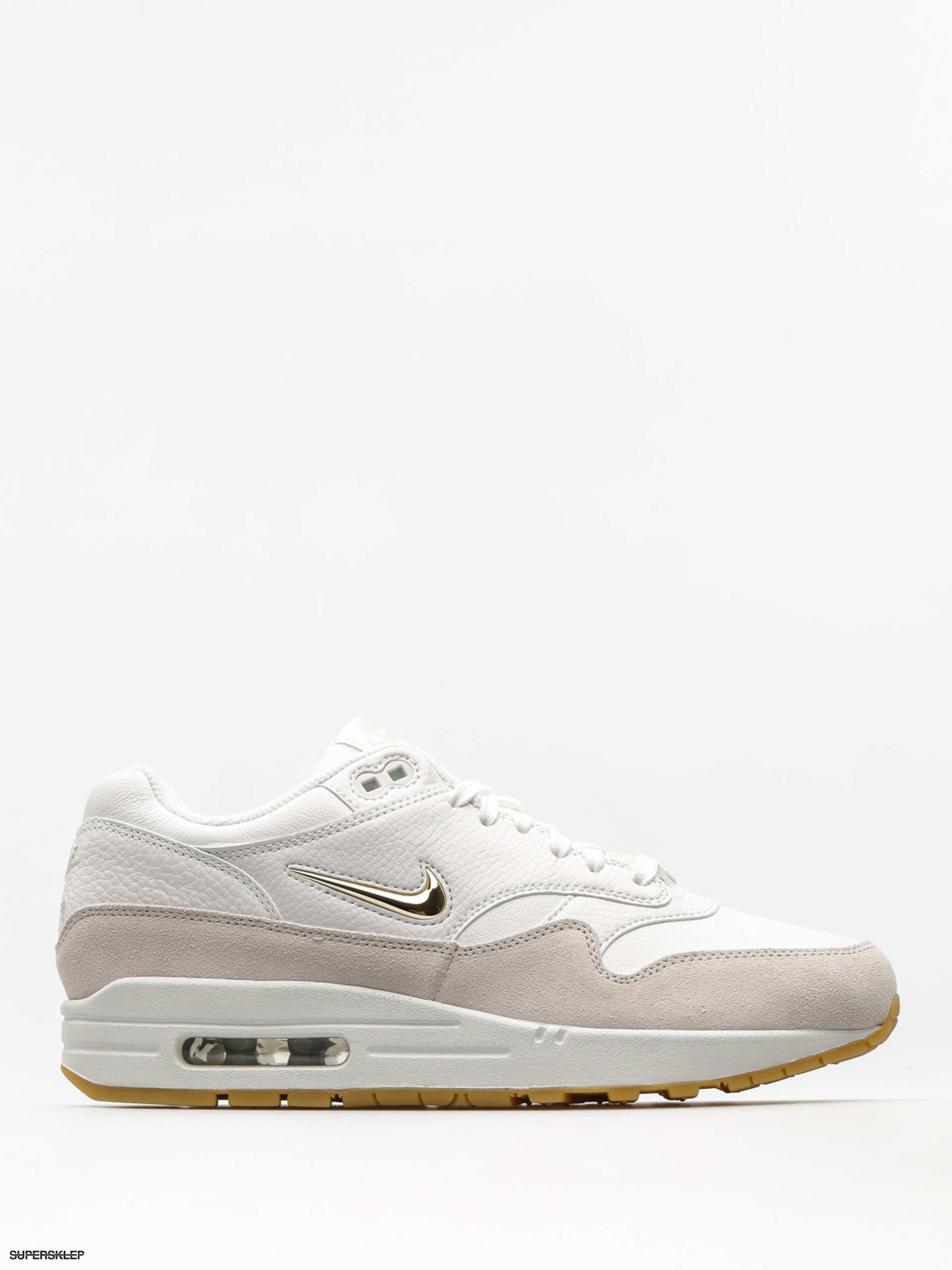 Topánky Nike Air Max 1 Premium SC Wmn (summit white/mtlc gold star light bone)