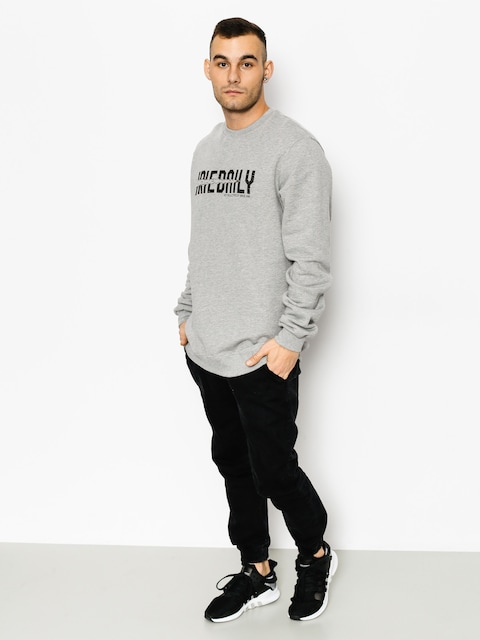Mikina Iriedaily Shot 2 Pieces Crew (grey mel)