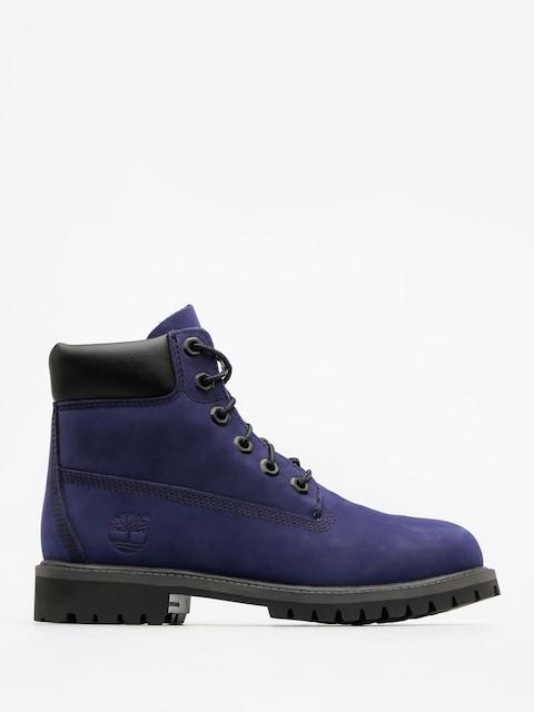 Detské topánky Timberland 6 In Premium Wp (dark blue nubuck)