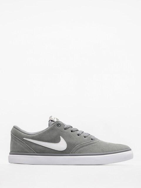 Topánky Nike SB Check Solar (cool grey/white)