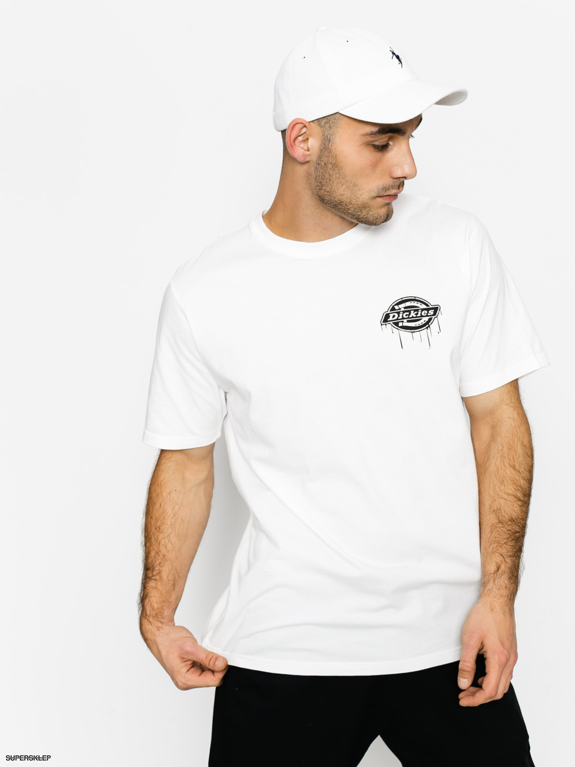 Tričko Dickies Clearfield (white)