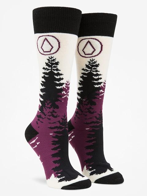 Ponožky Volcom Tundra Tech Wmn (blk)