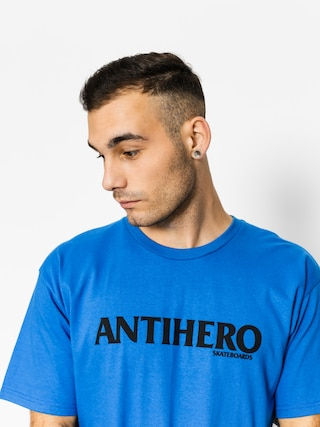 Tričko Antihero Blackhero Long (royal/black)