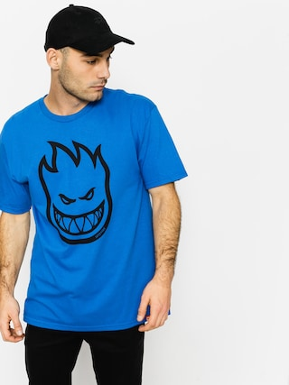 Tričko Spitfire Big Head (royal/black)