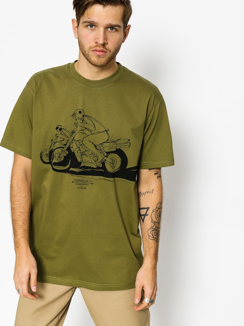 Tričko Turbokolor Will Barras (bike khaki)