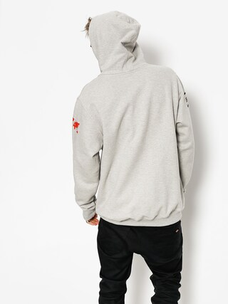 Mikina s kapucňou SSG 08 Lines HD (grey/black)