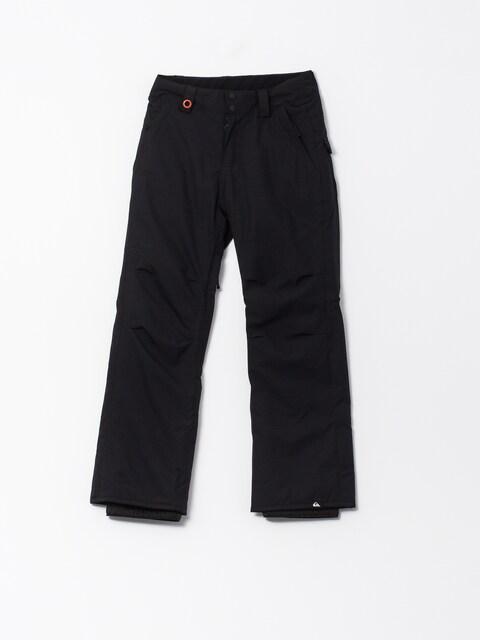 Snowboardové nohavice Quiksilver Estate (black)