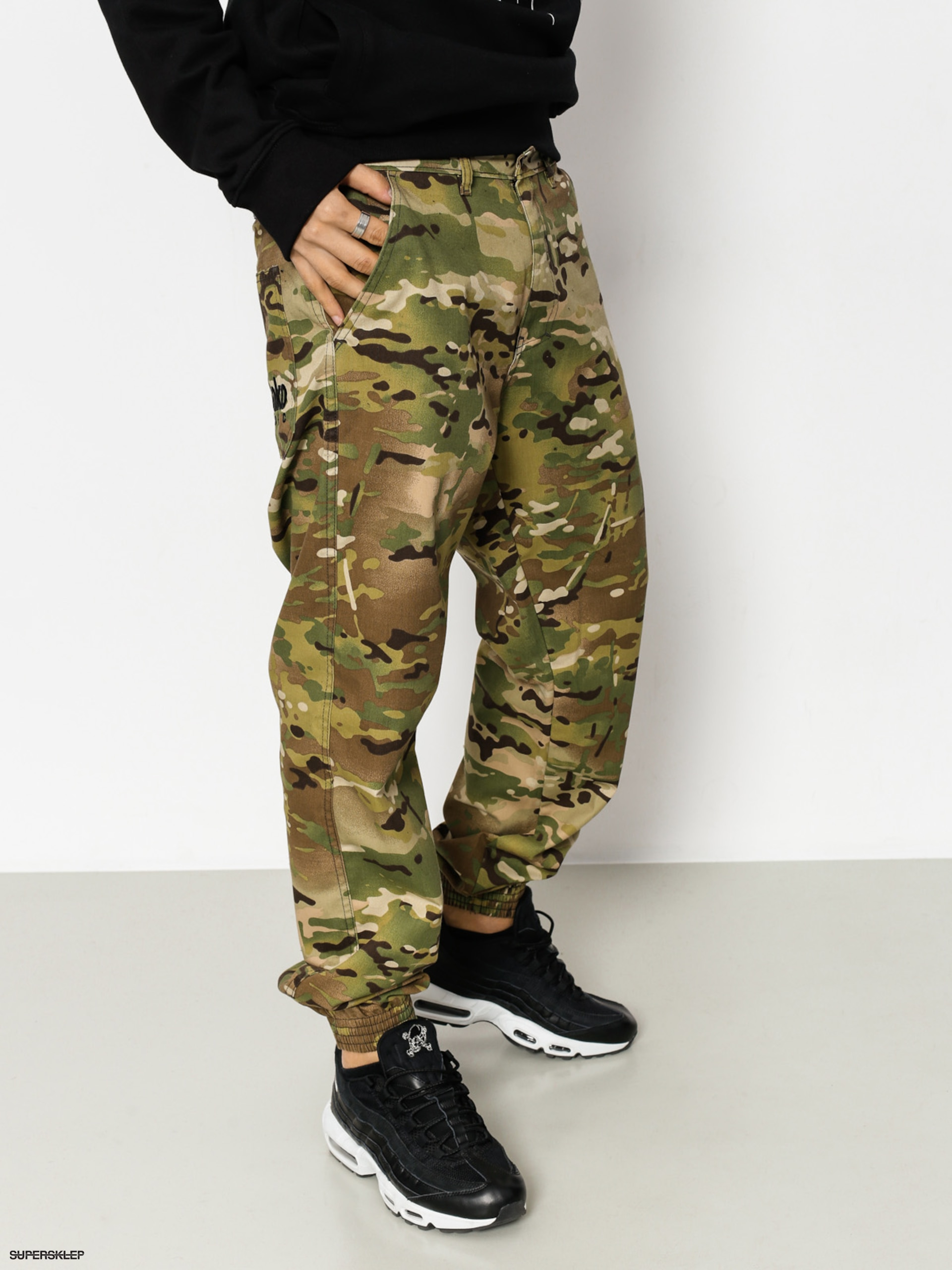Nohavice El Polako Classic Regular Jogger (us camo)