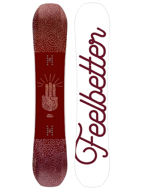 Snowboard Bataleon Feelbetter Wmn (white/maroon)