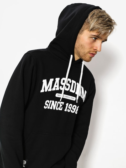 Mikina s kapucňou MassDnm Campus HD (black)