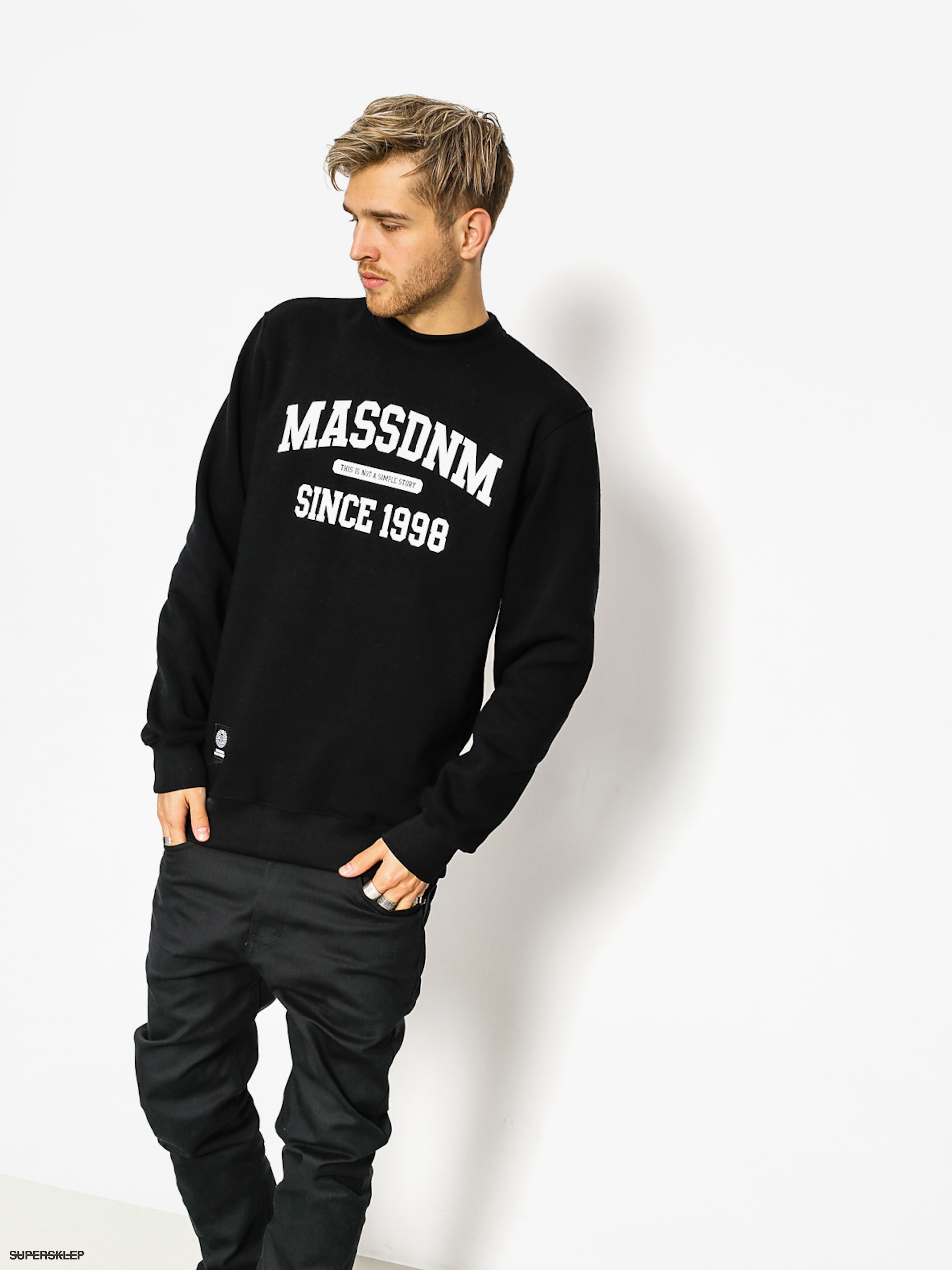 Mikina MassDnm Campus (black)