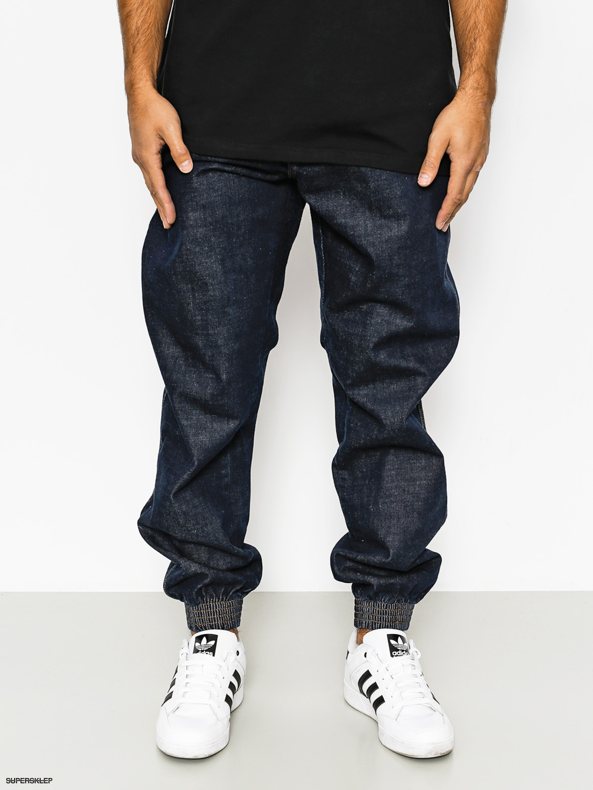 Nohavice El Polako Republic Regular Jogger (dark navy)