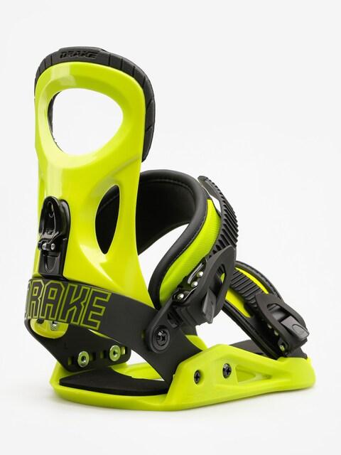Snowboardové viazanie Drake King (lime)
