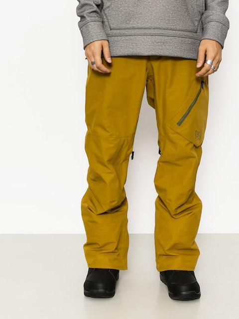 Snowboardové nohavice Burton Ak Gore Cyclic (amber green)