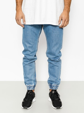 Nohavice MassDnm Base Joggers Jeans (light blue)