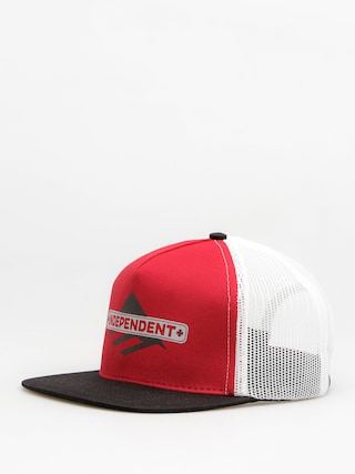 Šiltovka Emerica Indy Trucker ZD (red/black)