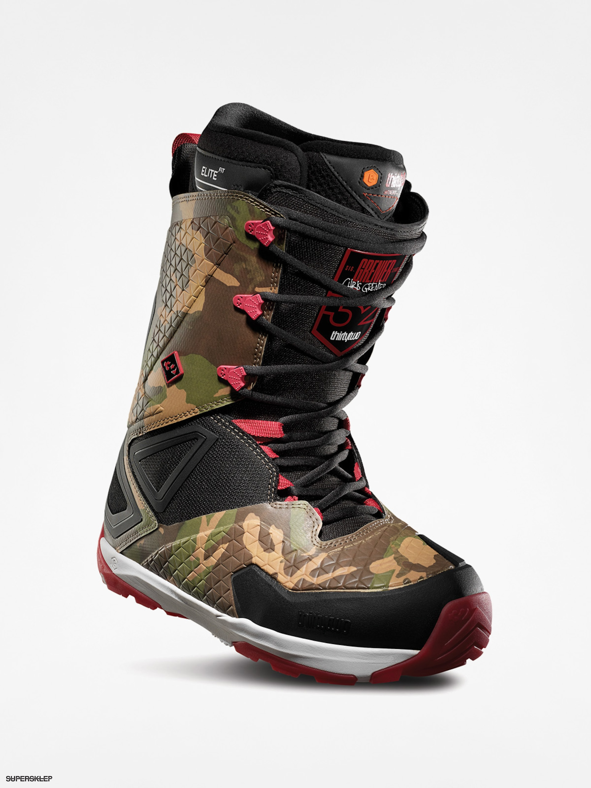 Obuv na snowboard ThirtyTwo Tm Three Grenier (camo)