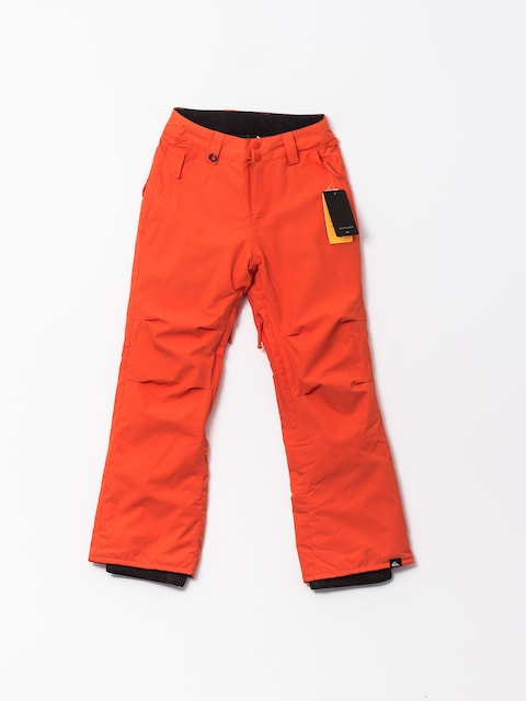Snowboardové nohavice Quiksilver Estate (mandarin red)