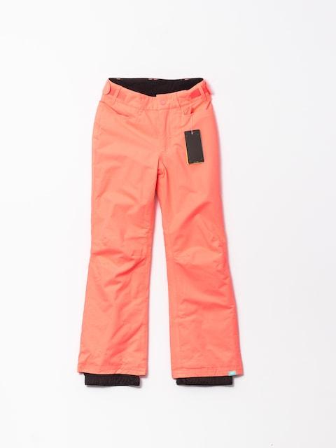 Snowboardové nohavice Roxy Backyard Gir (neon grapefruit)