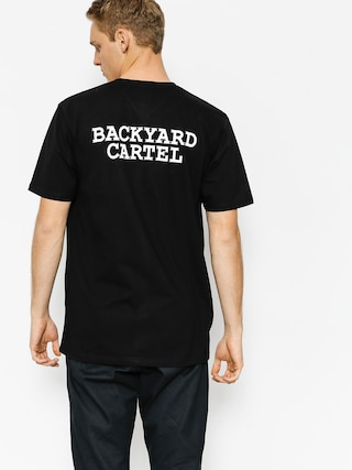 Tričko Backyard Cartel Back Label (black)