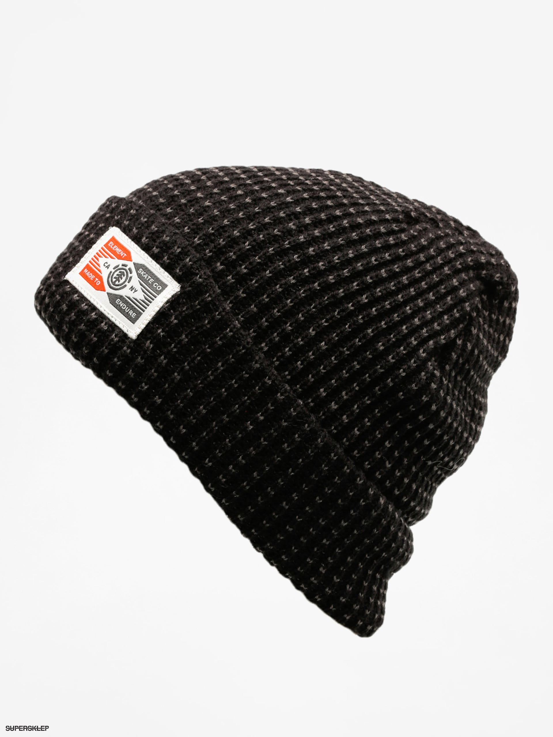 Čiapka Element Handler Beanie (asphalt heather)