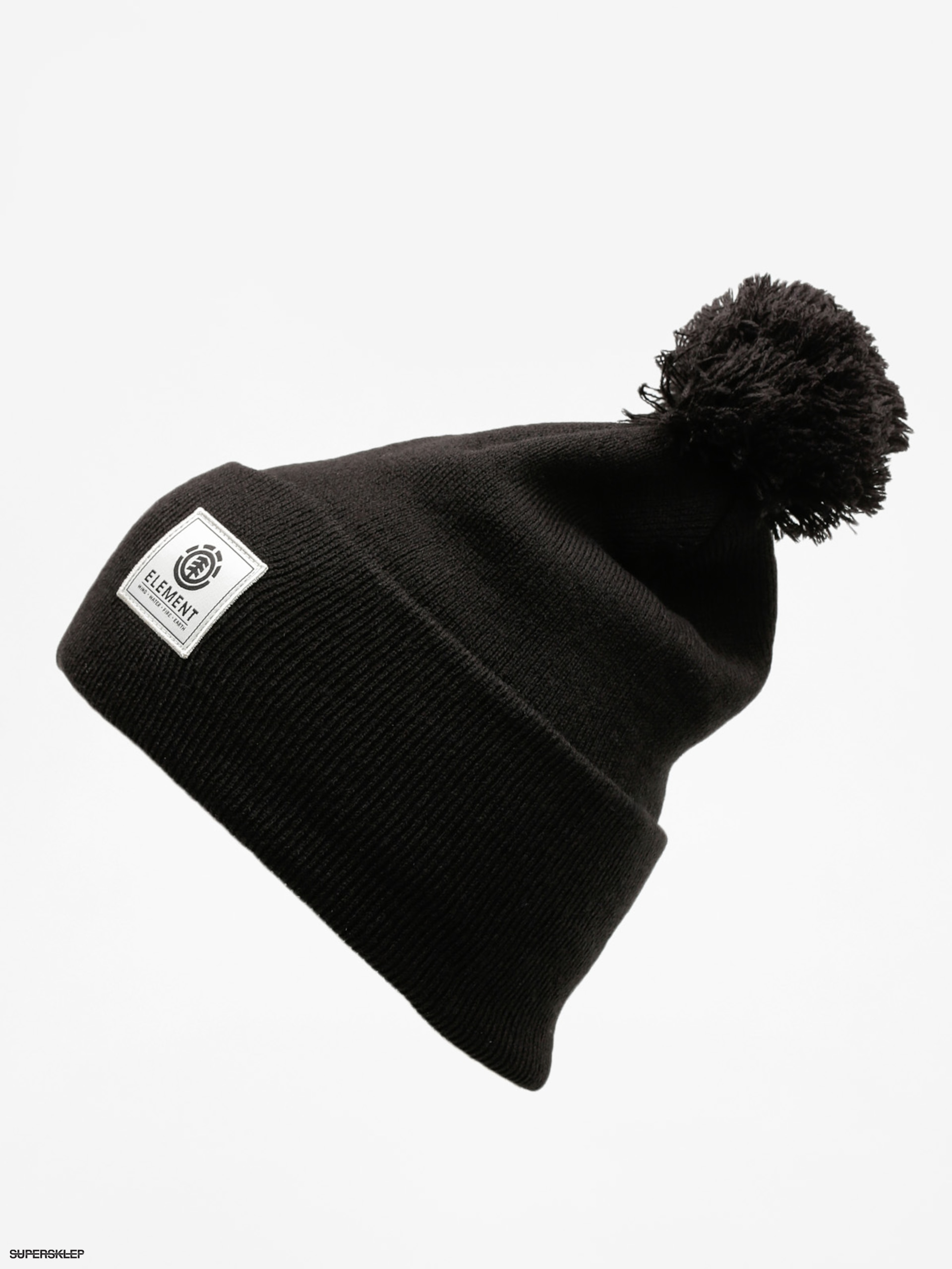 Čiapka Element Dusk Pom Beanie A (flint black)
